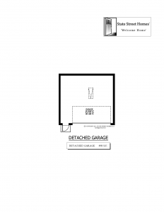 608 Clarendon Street, Oldsmar - Garage Plan