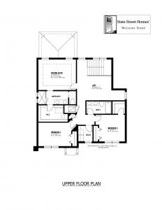 611 Clarendon Street, Oldsmar - Upper Floor Plan